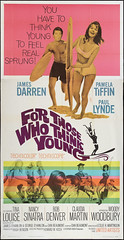 For Those Who Think Young (terr-bo) Tags: film movie surf surfing 1964 the60s thesixties paullynde nancysinatra bobdenver tinalouise the1960s pamelatiffin claudiamartin jamesdarren ellenburstyn woodywoodbury lesliehmartinson robertmiddleton