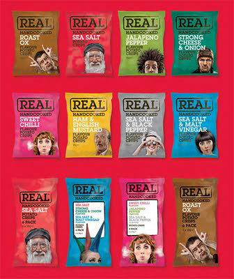 Real Crisps packaging