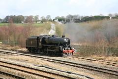 BR / LMS ( Crewe ) Stanier Class 5MT 'Black 5' 4-6-0 44871 (DC-7C) Tags: london heritage train buxton br 5 derbyshire engine scottish