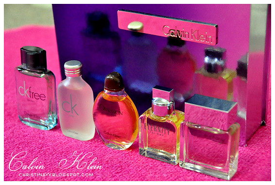 Calvin Klein 5 x Mini 15ml EDT Mens Gift Set