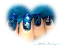 """""""Il Mare e la Notte"""" Nail Art"""