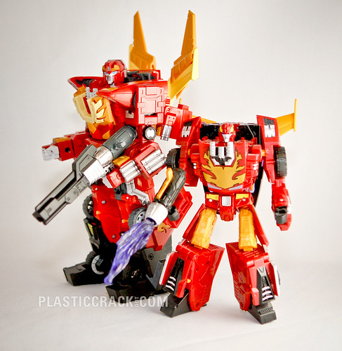 Rodimus Prime and Hot Rod