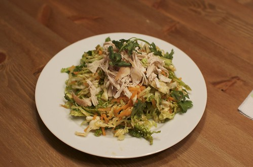 Thai Cabbage Salad with Chicken
