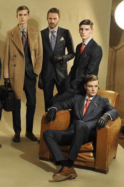 FW11_London_Alfred Dunhill011_Lowell Tautchin,Alexander Beck&Oskar Tranum