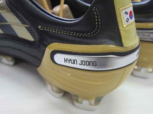 Kim Hyun Joong Adidas Shoe at FC Men Charity Soccer