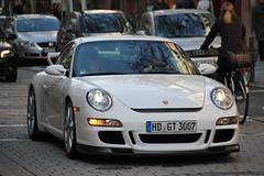 Porsche 911 GT3 (LuxuriousDeidesheim) Tags: 3 canon eos am d frankfurt main 911 porsche efs gt3 550 997 18135 worldcars göthestrase