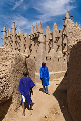 mosque of Senosa village, Mali (Phil Marion) Tags: africa travel vacation hot sexy beach beautiful beauty sex canon buildings naked nude mud phil market candid islam mosque marion explore adobe talib xxx mali chubby phat bozo pirogue djenne fulani sahel moslem pinasse bani nubile canon30d puel 5photosaday explored senosa mosquegrand  philmarion