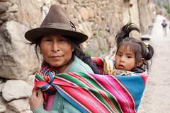 2010peru_2985 (lizz.giordano) Tags: woman peru southamerica breakfast published child daughter ollantaytambo scaredvalley