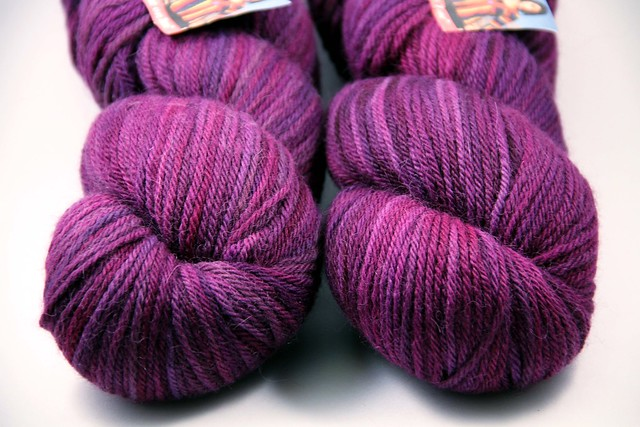 Misti Alpaca Handpainted Worsted: Gorgeous