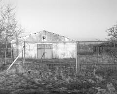 Abandoned storehouse. (wojszyca) Tags: abandoned 120 mamiya rural canon mediumformat nikon decay poland 25 6x7 agfa expired liquid apx canoscan redfilter gossen rz67 110mm pgr r60 tetenal ultrafin lunaprosbc 9000f