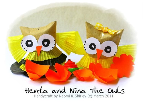 Henta and Nina The Owls