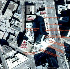 Map of Portage and Main NW Corner