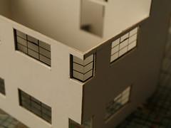 Moderne fantasy layout update: Crittall corner windows (FrMark) Tags: uk windows england building home station architecture corner thirties model britain railway moderne gb british stamford deco crittall