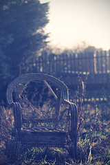 Chair (Curt60d) Tags: old school canon private chair pastel taylor curt wicker derelict boarding yarm 60d curt500d saltergill curt60d