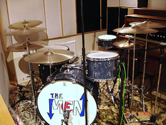 K-Drums in the studio