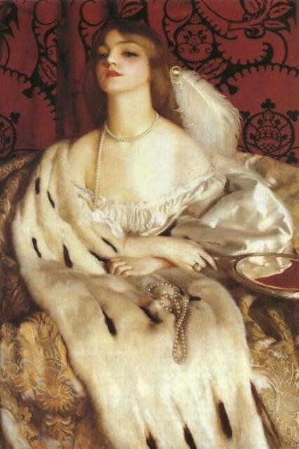 2 Frank Cadogan Cowper (English painter, 1877–1958) Vanity b