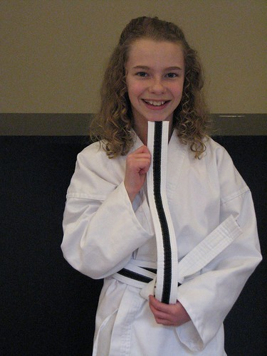 high white belt!