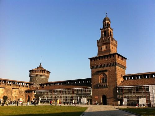 Thumbnail from Sforzesco Castle