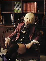 The Master Alois (Sid_arthur) Tags: boy art america photography ecuador cosplay ciel ii latin blonde demon claude cosplayer alois lovely ai cosplayers sexi shonen faustus trancy kuroshitsuji sidarthur phantomhive monoshitsuji