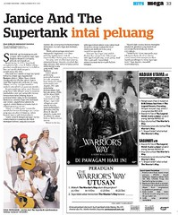 Janice and the Supertank, Utusan 6.12.2010
