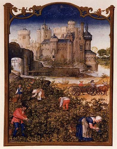 010- Breviario Grimani-Mes de Septiembre-1490-1510- Biblioteca Nazionale Marciana-Venice