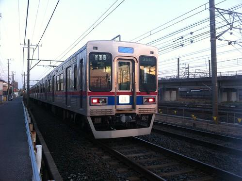 京成電鉄の試運転