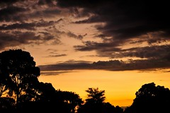 'End of Day' (bne-almost zen) Tags: light sunset sky nature silhouette nikon 85mm melbourne victoria stormclouds f14g d700 cloudsstormssunsetssunrises nikkor85f14g