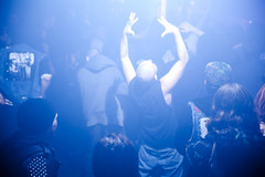 Crowd at Leftover Crack / Thulsa Doom show (konstantin sergeyev) Tags: show rock concert waiting punk audience crowd moshpit thulsadoom leftovercrack santospartyhouse