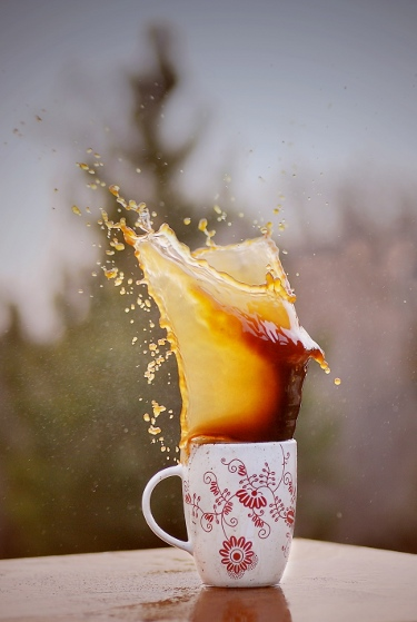 Coffe splash