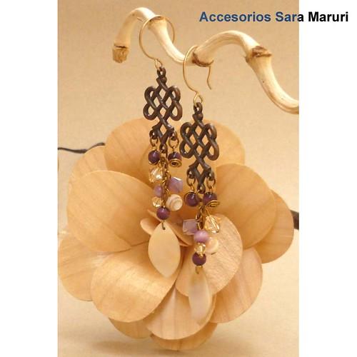 Conjunto de Tagua y coco. Diseños de accesorios Sara Maruri