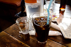ice coffee <---  (sallyshu7116) Tags: japan sapporo hokkaido    2011
