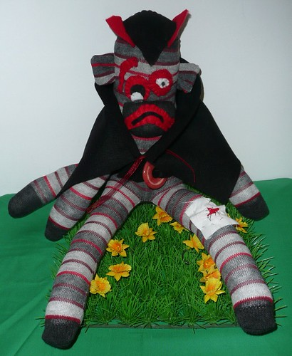 Count Munkey Monster  by Sock Monkeygang