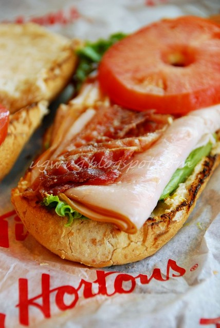 Regular Turkey Bacon Club Sandwich