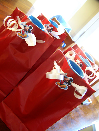 110225 Mickey Bday 02 - favor bags