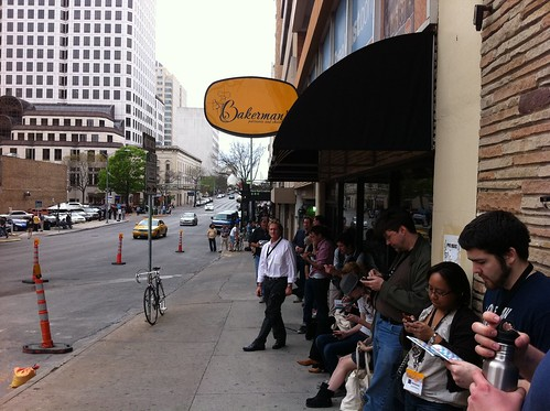 Queueing up for 13 Assassins at the Paramount