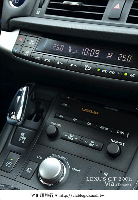 【體驗試乘】和Lexus CT200h來趟台中小旅行~拜訪台中市新景點!11