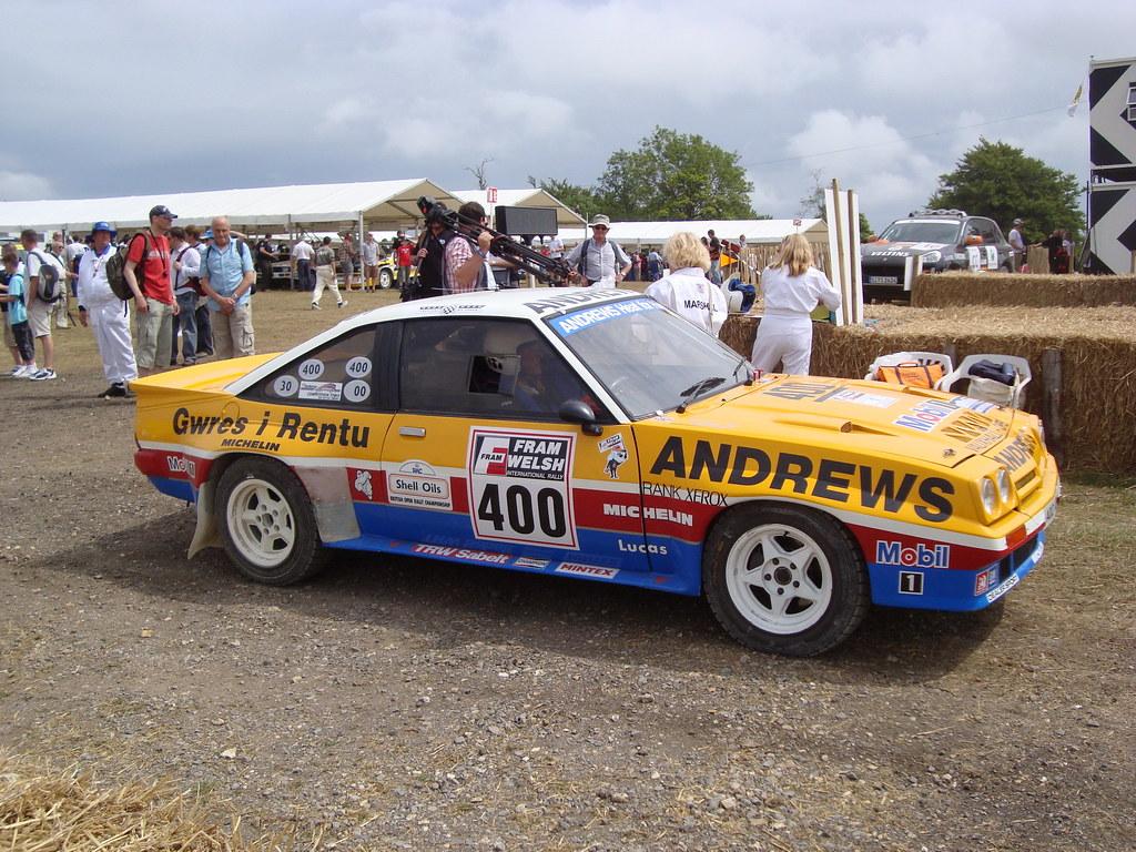 Retro Rides Rally Week Opel Manta 400 Retro Rides