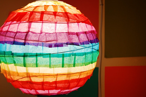 rainbow lantern