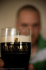 Happy St. Patrick's (IBPhotographic) Tags: irish selfportrait beer guinness pint stpatricksday