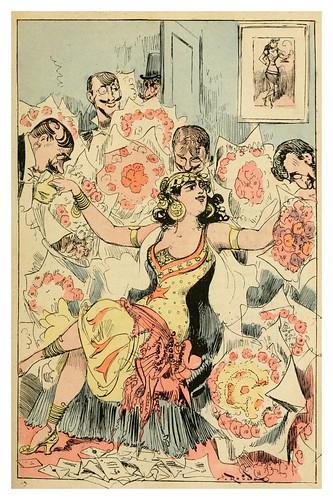 004-El camerino de Criquetta-La grande mascarade parisienne 1881-84-Albert Robida