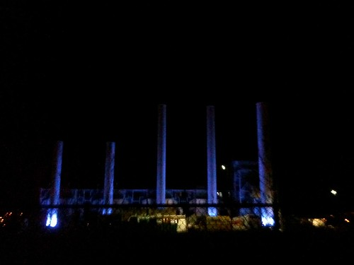 Seaholm Power Plant Smokestacks
