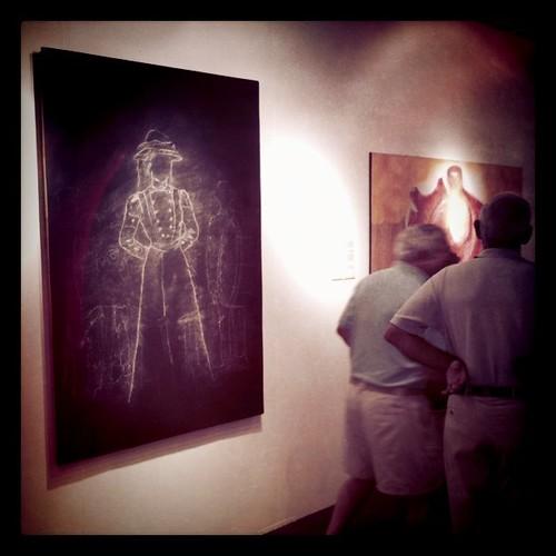 My drawing at Art Naples