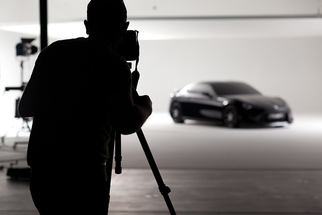 Toyota FT-86 II Sports Concept - Behind the scenes shoot