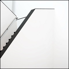 Climbing (Maerten Prins) Tags: white abstract wall museum stairs composition eindhoven minimal abbe
