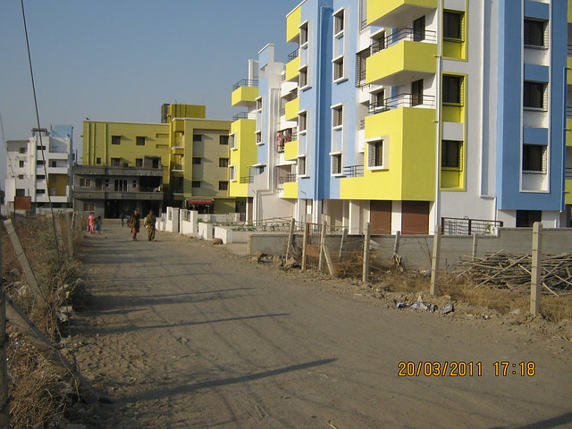 Residential project on the road to Teerth Realties' Aarohi - 2 BHK & 3 BHK Flats - near Vidya Valley School - Sus Pune 411 021