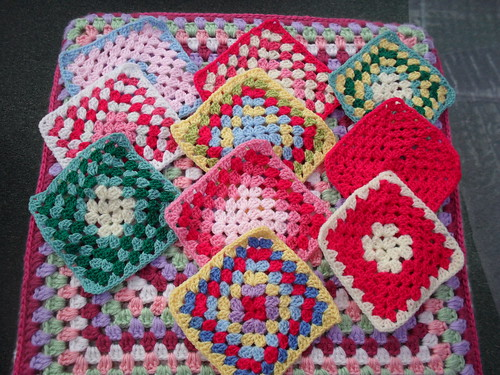 Nothing like the good old Granny! Such beautiful Squares, thank you Jean.