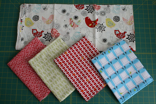 Fat Stash Bee - Fabric for my Month by thecharmingneedle
