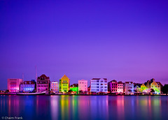 Handelskade in Purple (jetrated) Tags: curacao willemstad handelskade annabaai