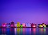 Handelskade in Purple (jetrated) Tags: curacao willemstad handelskade annabaai