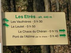 Chéran - le Chaos - Photo d'Andrée MANAÏ PICT0055
